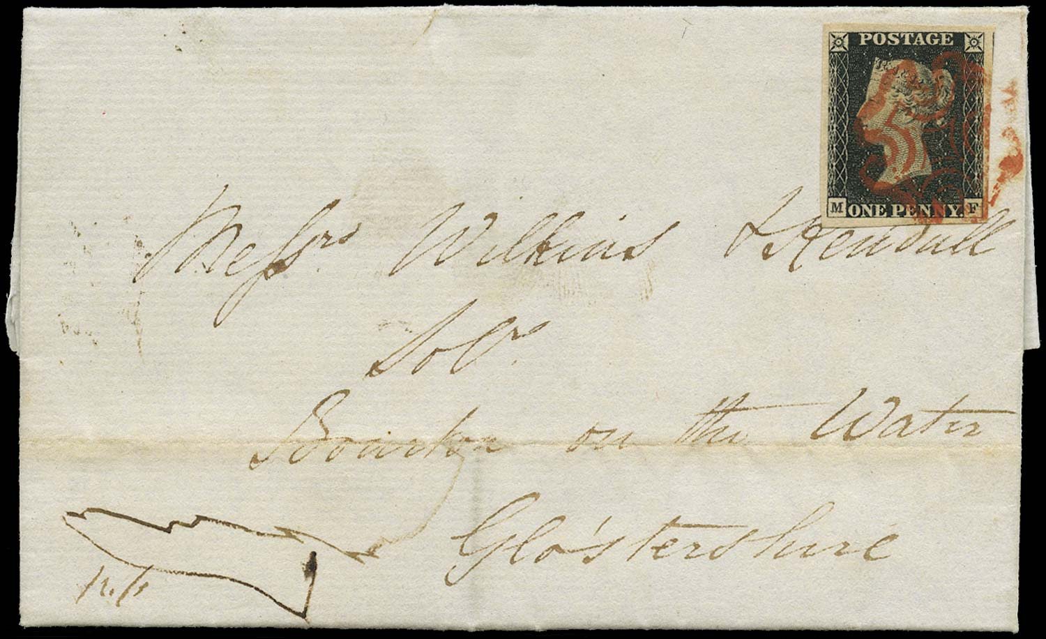 GB 1840  SG2 Pl.1b Cover