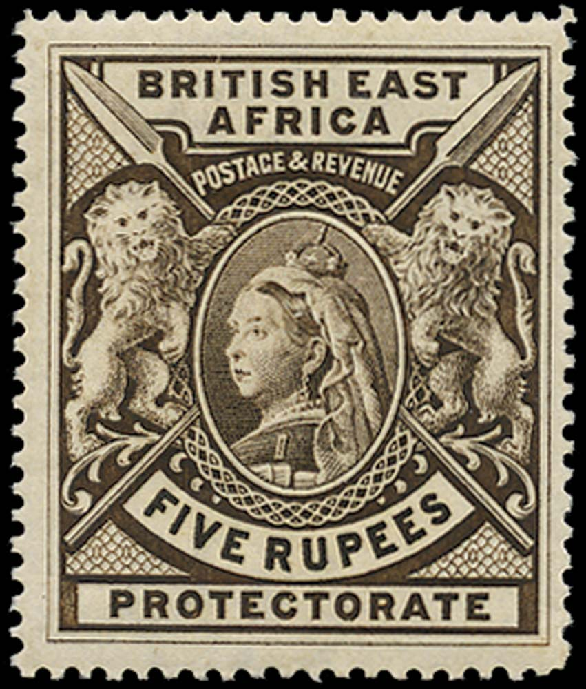 BRITISH EAST AFRICA 1897  SG96 Mint