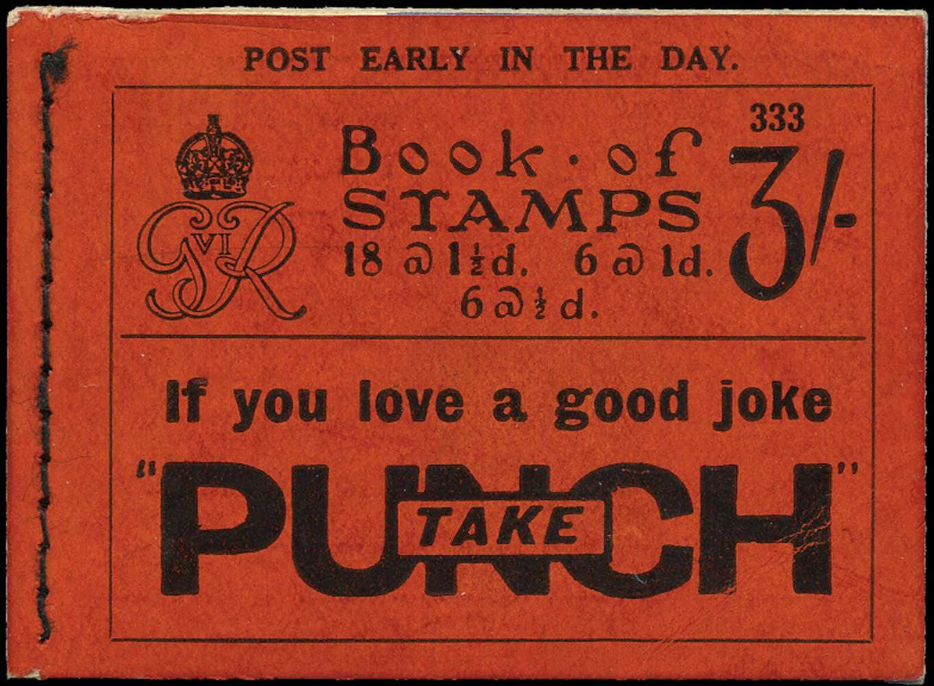 GB 1937  SGBD21 Booklet