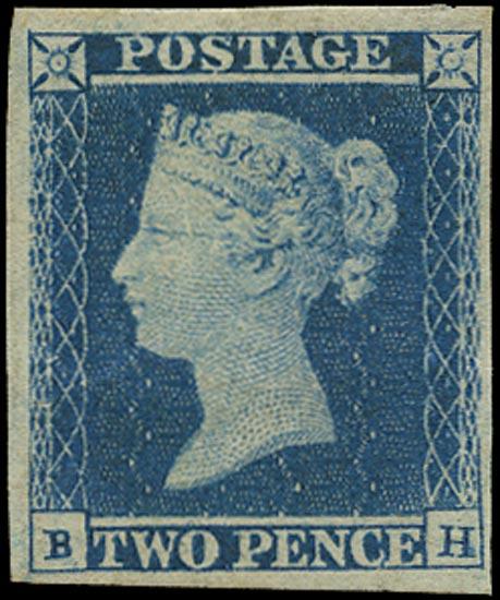 GB 1841  SG14var Pl.4 Mint BH showing