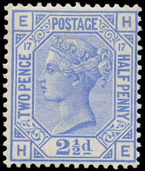 GB 1880  SG142 Pl.17 Mint - Unused o.g.