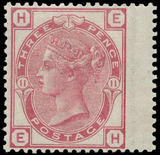 GB 1873  SG143 Pl.11 Mint - Unused o.g.