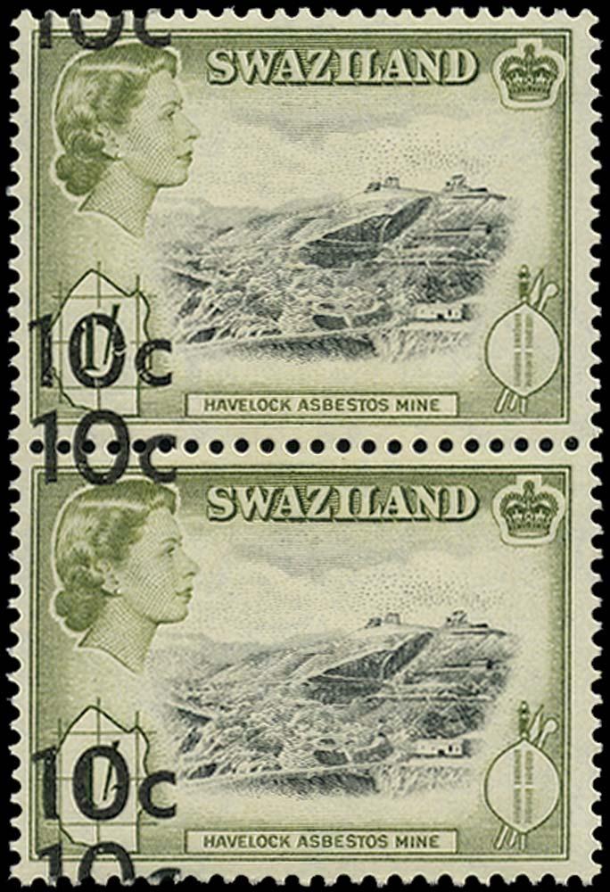 SWAZILAND 1961  SG73a Mint
