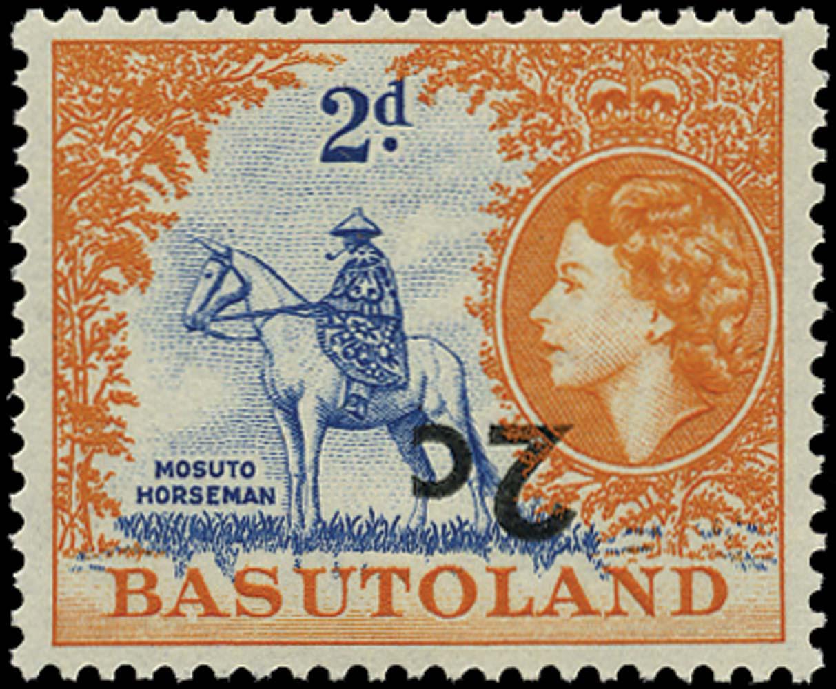 BASUTOLAND 1961  SG60a Mint