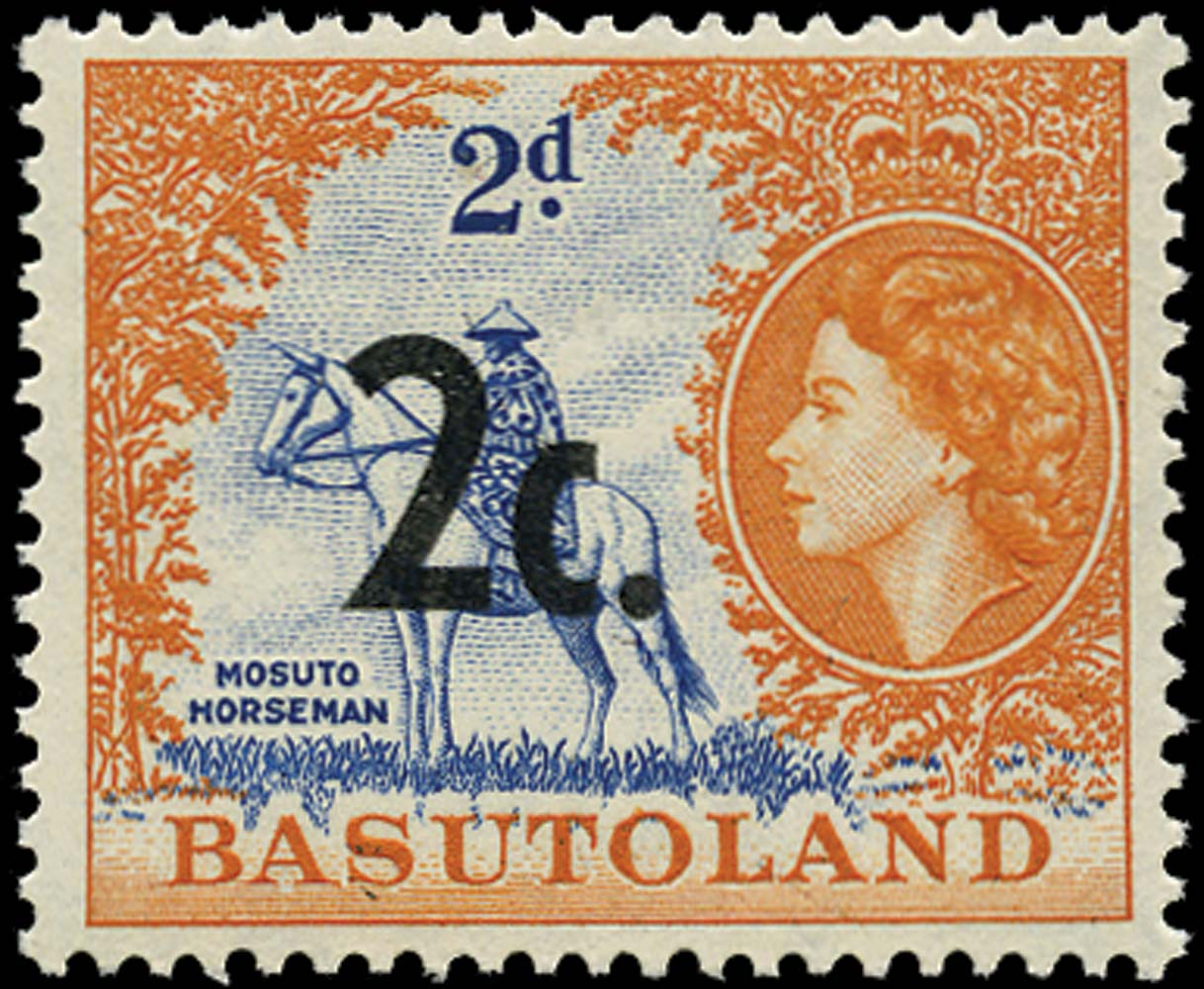 SWAZILAND 1961  SG60 var. Mint