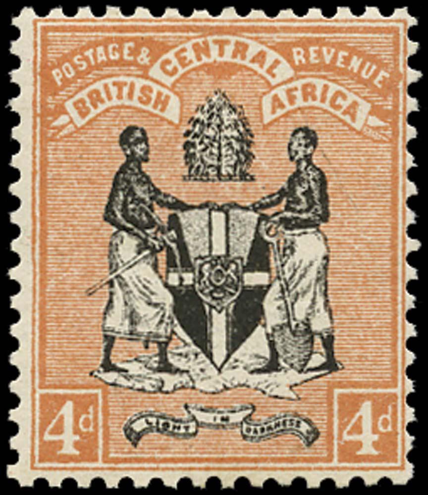 NYASALAND 1895  SG23 Mint
