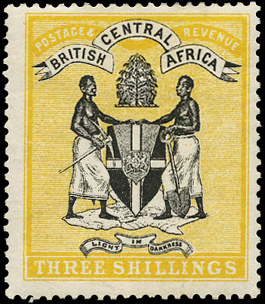 NYASALAND 1895  SG27 Mint