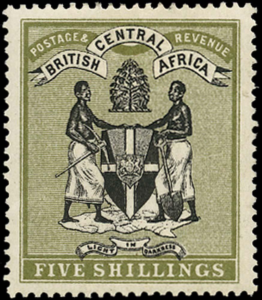NYASALAND 1895  SG28 Mint
