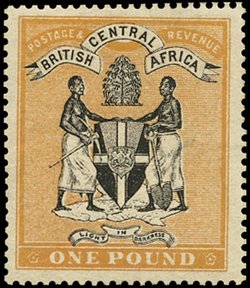 NYASALAND 1895  SG29 Mint