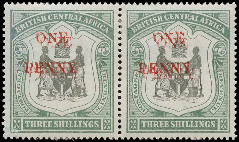 NYASALAND 1897  SG53c Mint