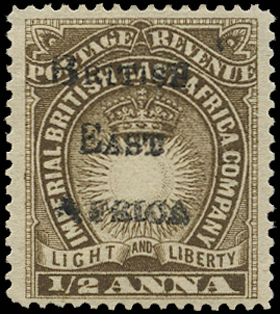 BRITISH EAST AFRICA 1895  SG33 Mint