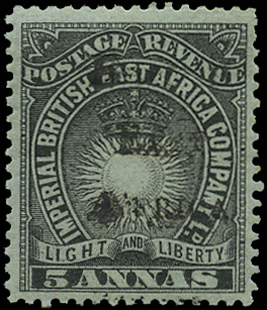 BRITISH EAST AFRICA 1895  SG40 Mint