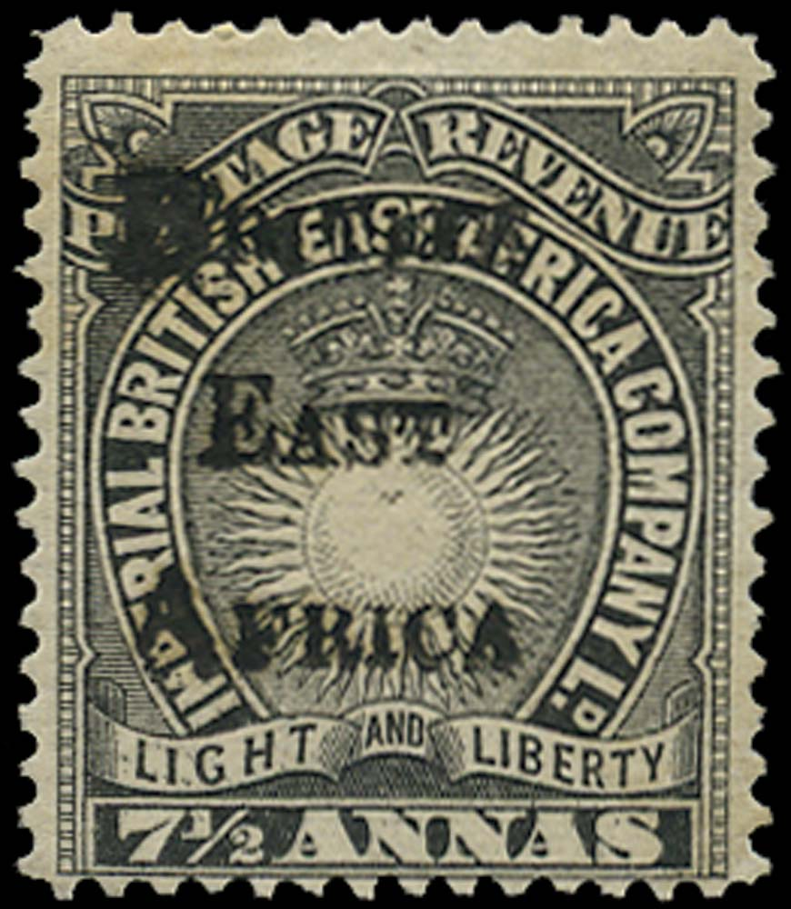 BRITISH EAST AFRICA 1895  SG41 Mint