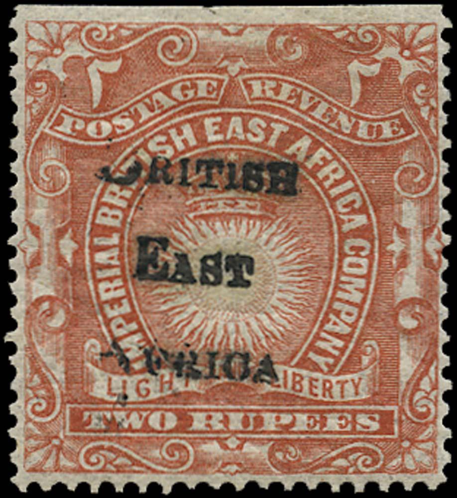 BRITISH EAST AFRICA 1895  SG44 Mint