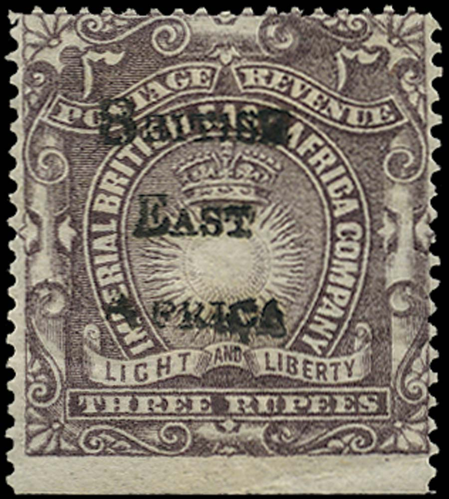 BRITISH EAST AFRICA 1895  SG45 Mint
