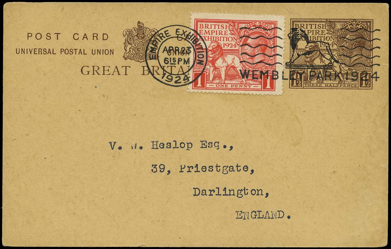GB 1924  SG430 Cover British Empire Exhibition FDC