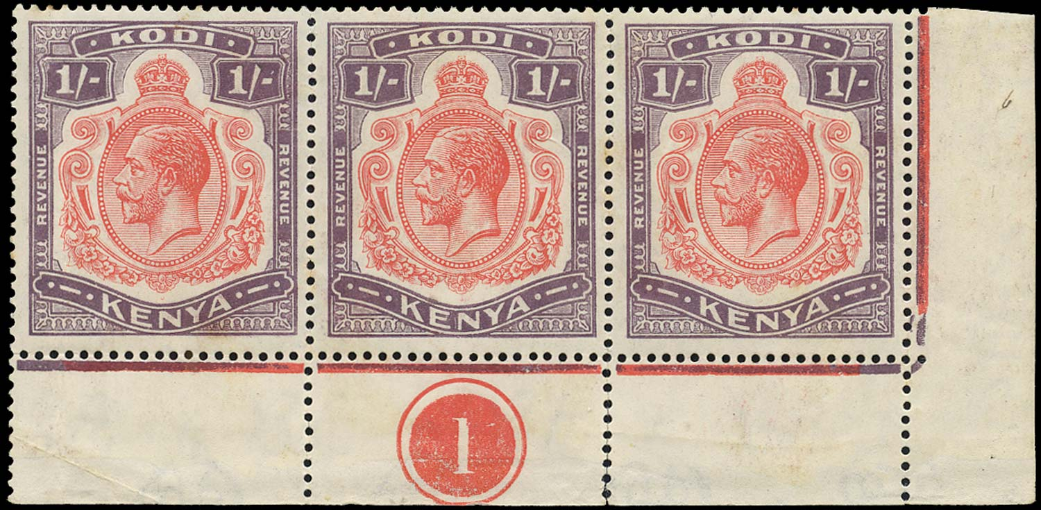 KENYA 1934 Revenue Kodi (Poll Tax)