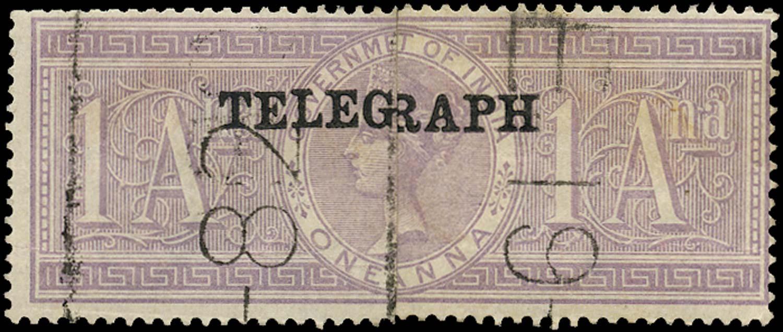 INDIA 1881  SGT29 Telegraph