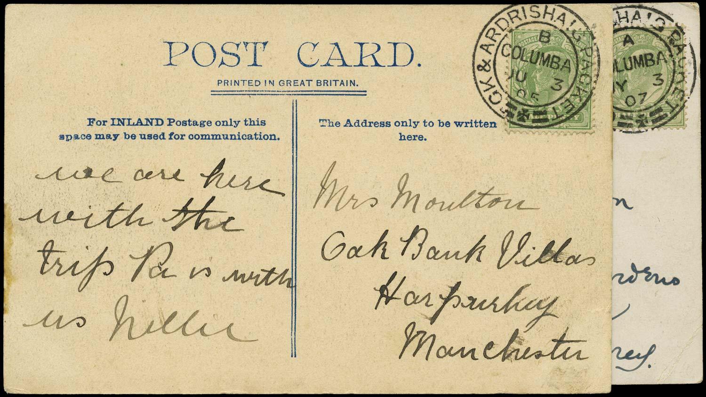 GB 1905-07  SG218 Cover