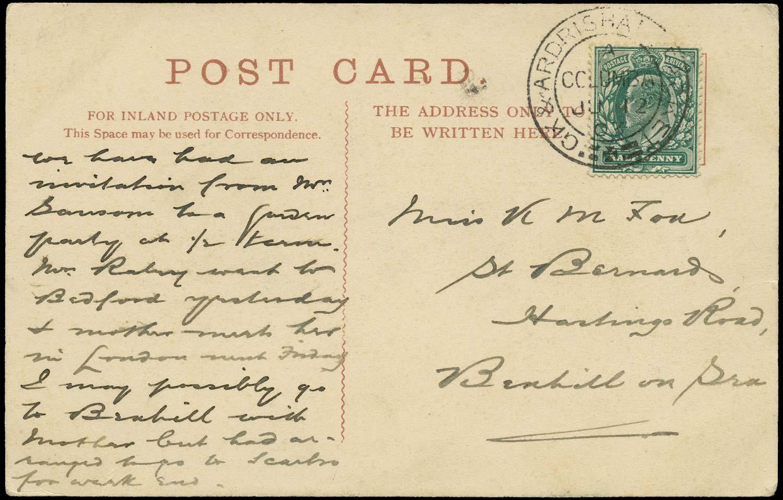 GB 1903  SG216 Cover