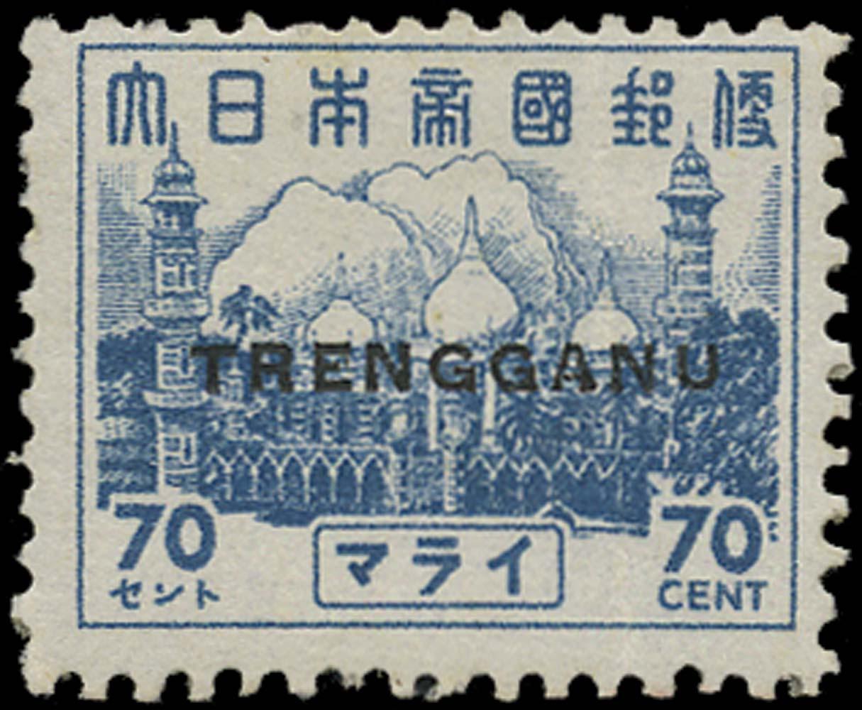 MALAYA THAI OCC 1942  SGTT28 Mint
