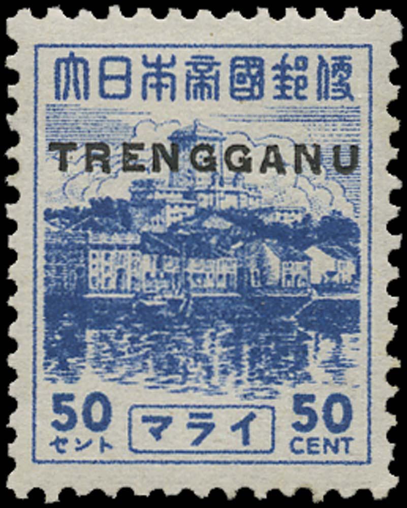 MALAYA THAI OCC 1944  SGTT27 Mint