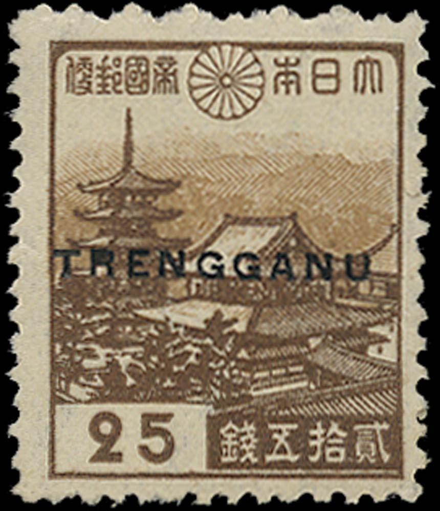 MALAYA THAI OCC 1944  SGTT33 Mint