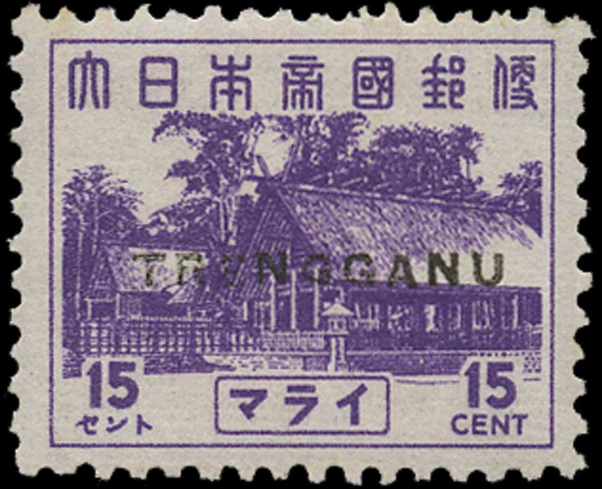 MALAYA THAI OCC 1944  SGTT25 Mint