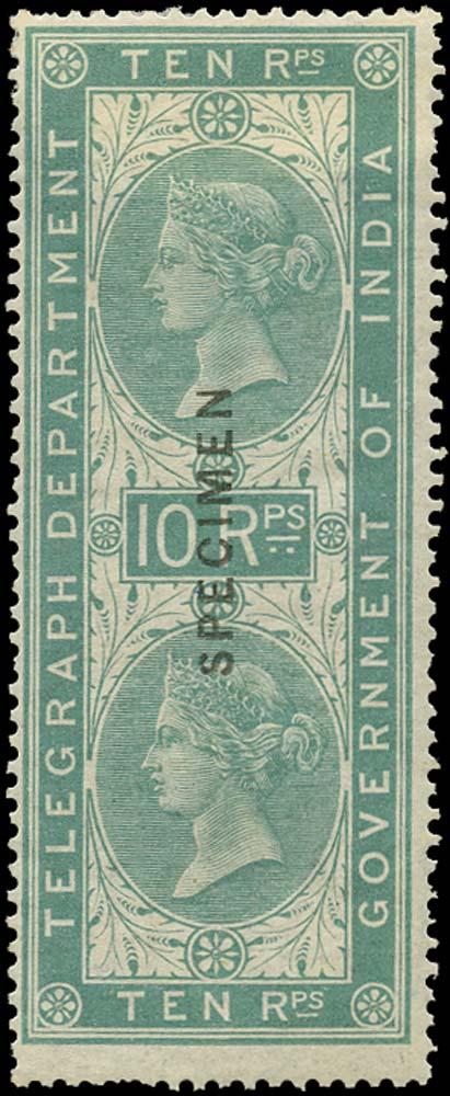 INDIA 1869  SGT13 Telegraph