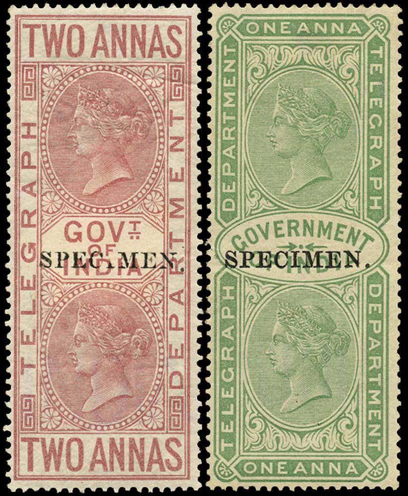 INDIA 1869  SGT5, 32 Telegraph