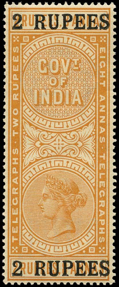 INDIA 1899  SGT52 Telegraph