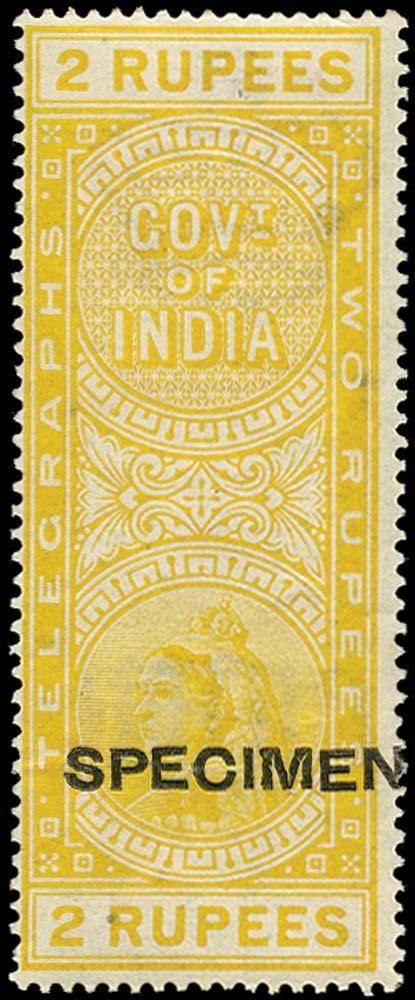 INDIA 1900  SGT55 Telegraph