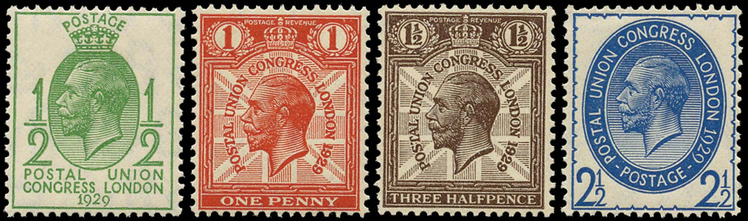 GB 1929  SG434/7 Mint unmounted o.g. set of four