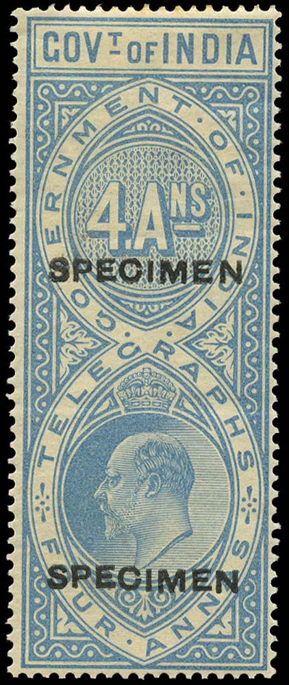 INDIA 1904  SGT58 Telegraph