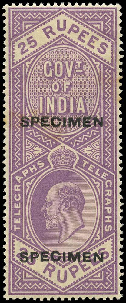 INDIA 1904  SGT64 Telegraph