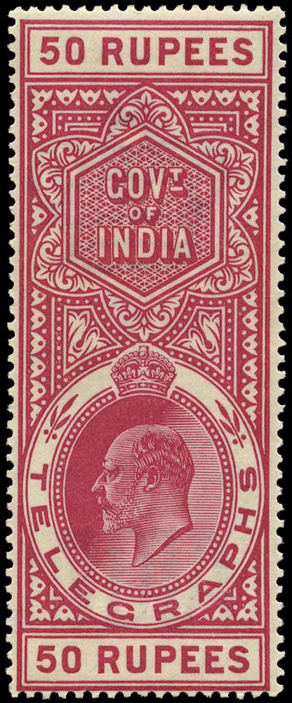 INDIA 1904  SGT65 Telegraph
