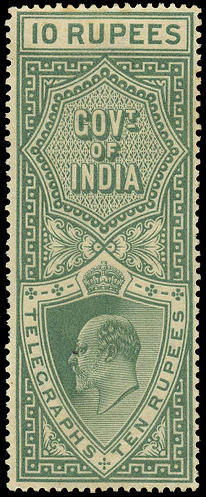 INDIA 1904  SGT63 Telegraph