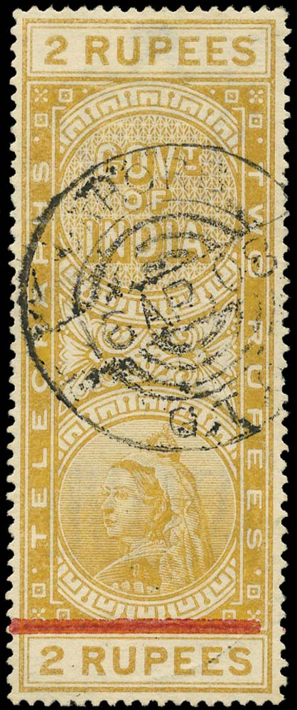 INDIA 1900  SGT55a Telegraph