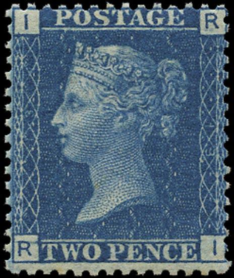 GB 1869  SG47 Pl.13 Mint