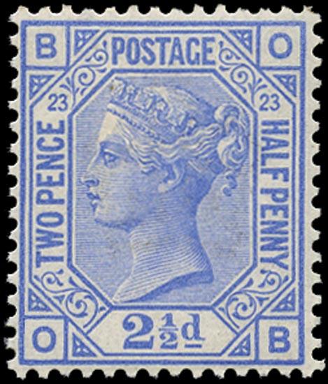 GB 1881  SG157 Pl.23 Mint