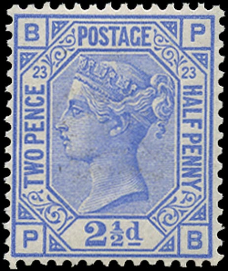 GB 1881  SG157 Pl.23 Mint
