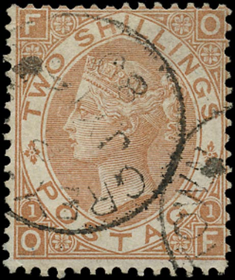 GB 1880  SG121 Pl.1 Used