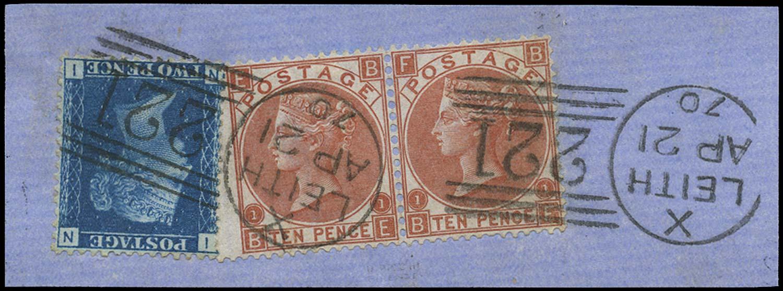 GB 1867  SG47,112 Used