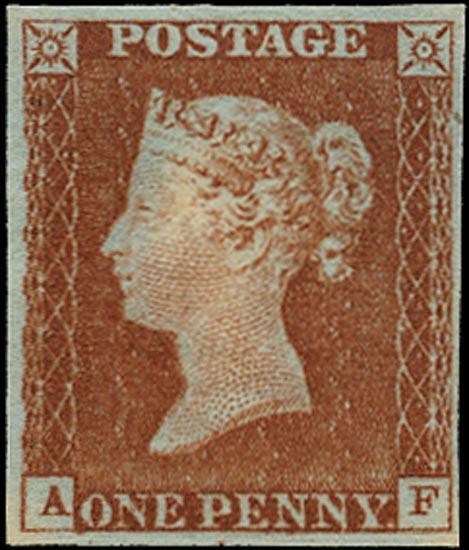 GB 1841  SG8 Pl.36 Mint Unused large part o.g. example (AF)