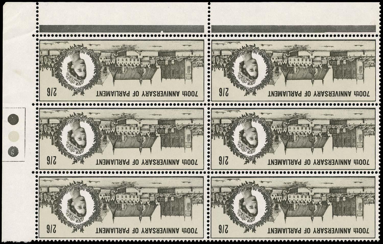 GB 1965  SG664wi Mint Wmk inverted U/M