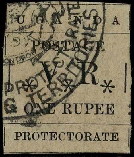 UGANDA 1896  SG60 Revenue
