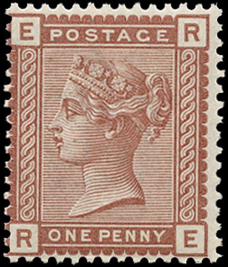 GB 1880  SG166 Mint unmounted o.g.