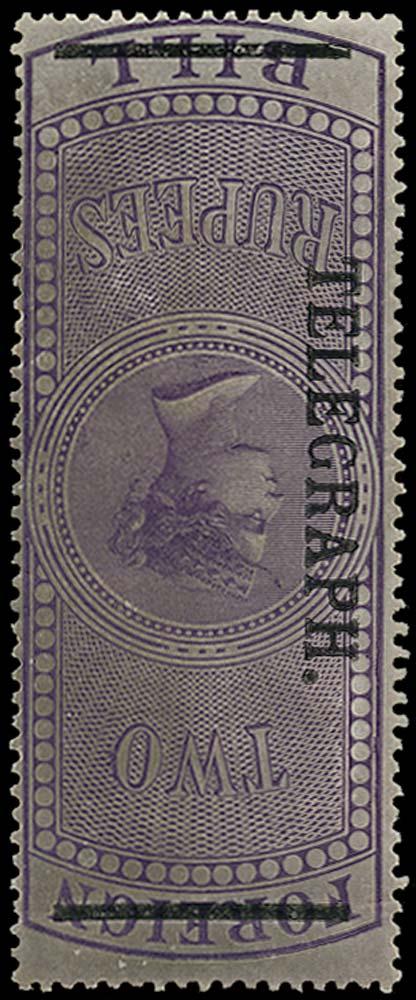 INDIA 1900  SGT53w var Telegraph