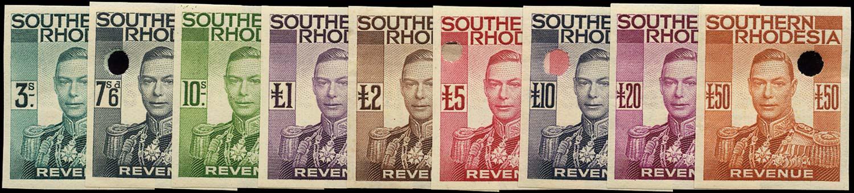 SOUTHERN RHODESIA 1937 Revenue