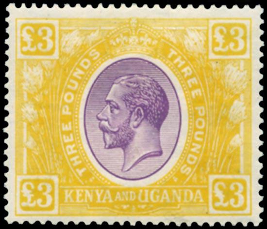 KUT 1925  SG97 Mint